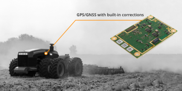 Septentrio has launched the AsteRx-m2 Sx OEM GNSS receiver offer a sub-decimeter positioning solution with no need for a subscription correction service.
