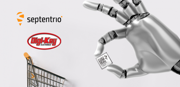 Digi-Key Electronics has signed a global deal that will see the distributor sell Septentrio's reliable high-accuracy positioning system.