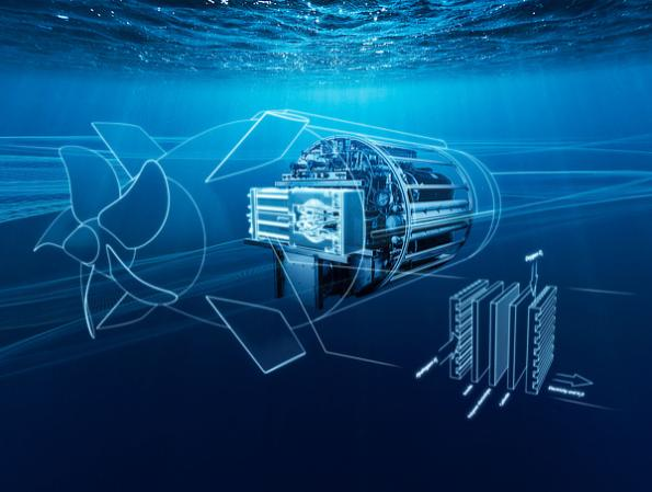 Siemens plans to boost the performance of its BZM fuel cell modules from 40kW to 480kW for underwater unmanned vehicles (UUVs)