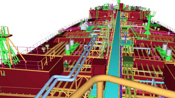 Siemens acquires marine software for digital twin designs