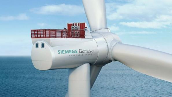 Siemens Gamesa supplies turbines for €1.3bn Belgian offshore wind farm