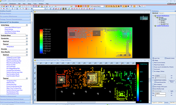 Sigrity Power supports new open thermal simulation format