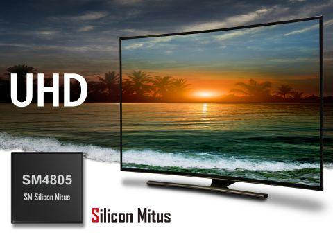 Silicon Mitus has launched a highly integrated multi-output PMIC for Ultra HD TV LCD panel designs.
