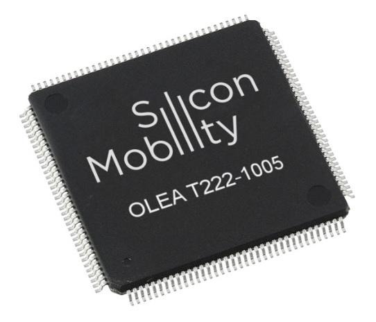 Silicon Mobility's OLEA T222 FPCU semiconductor has gained ISO 26262:2018 ASIL D certification after an audit by SGS-TÜV Saar.