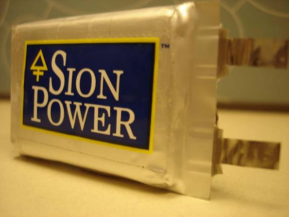 Sion Power to ramp production of lithium metal battery