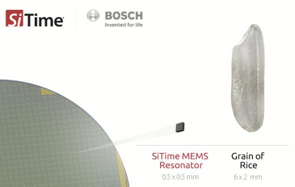 SiTime, Bosch aim MEMS at 5G, automotive and IoT
