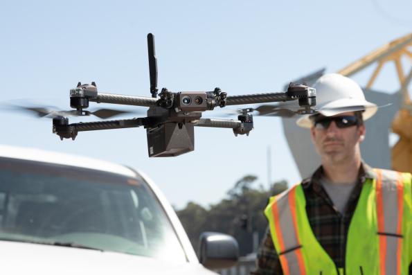 AI drone maker raises $100m