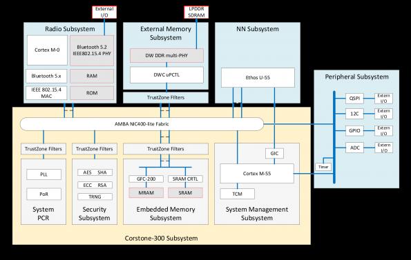 Semi-custom IoT ASIC for edge AI