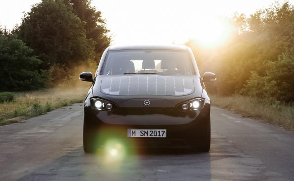 German solar powered car startup signs Bosch