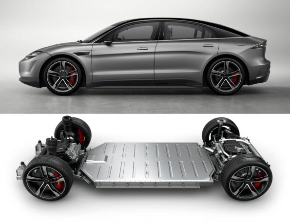 Sony has developed a prototype electric vehicle platform that can be used for cars, SUVs and other form factors.