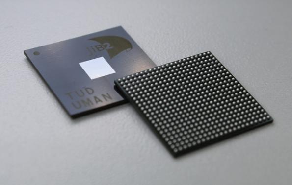 Manchester, Dresden, Globalfoundries produce SpiNNaker2 chip