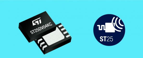 ST boosts I2C speed of dual-interface NFC tags
