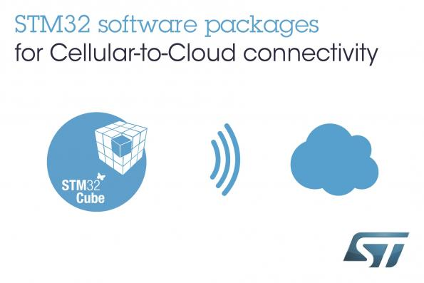 STM32 Cellular-to-Cloud Discovery Packs now in distribution