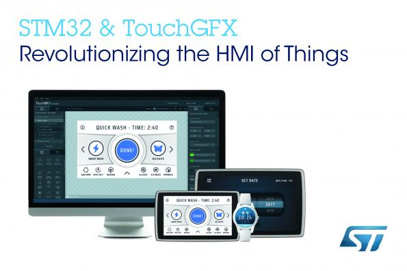 GUI design tool added to free STM32 ecosystem