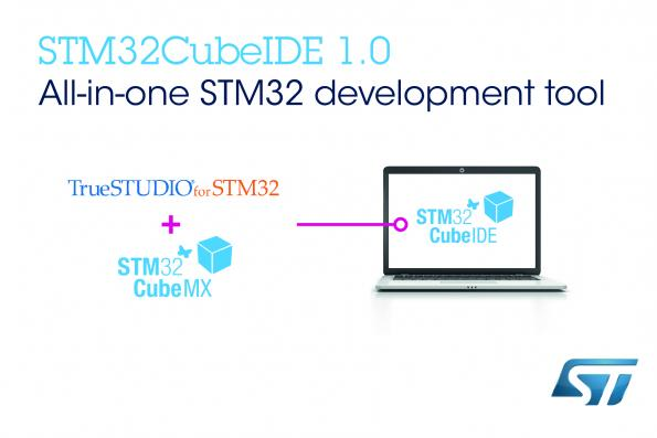 Free ST IDE expands STM32Cube MCU ecosystem