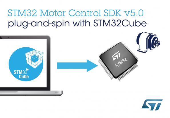 STM32 Software Development Kit facilitates motor-control design