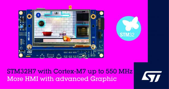 STMicroelectronics has launched a range of STM32* MCUs with embedded Flash that provides rich graphics, AI, and cyber-protection to cost-sensitive connected products.