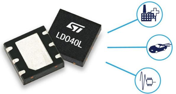 Low-noise LDO regulator for smart automation