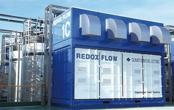 US energy supplier trials grid-scale redox flow batteries