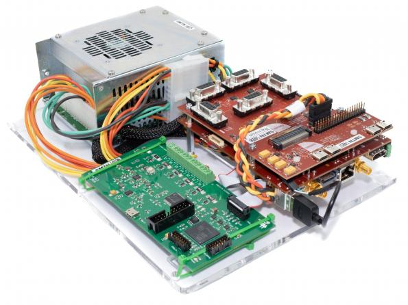 Sundance Multiprocessor Technology's Sundance VCS-1 is a high performance embedded platform incorporating real-time vision, control and sensor applications.