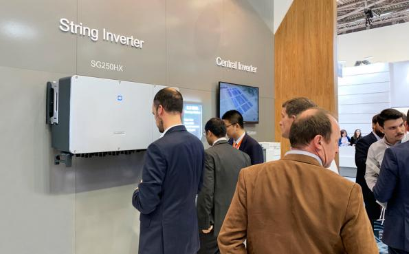 Sungrow claims world's most powerful solar string inverter