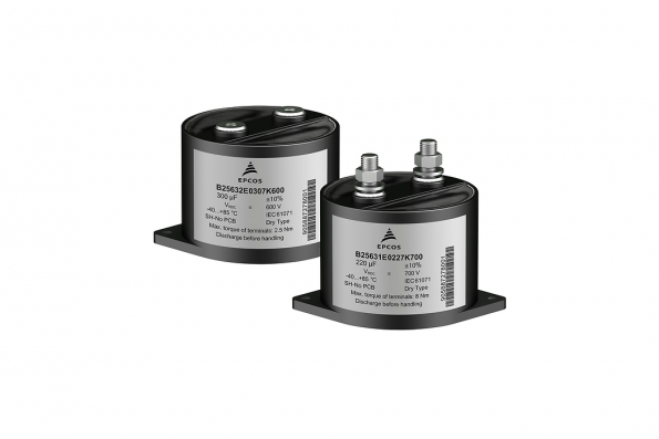 DC link capacitor has 13nH ESL for high speed switching