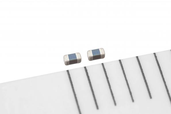 TDK's AVRH10C101KT1R1NE8 varistor has low capacitance and narrow tolerance for signal integrity at high data rates with dimensions of 1.0 x 0.5 x 0.5 mm