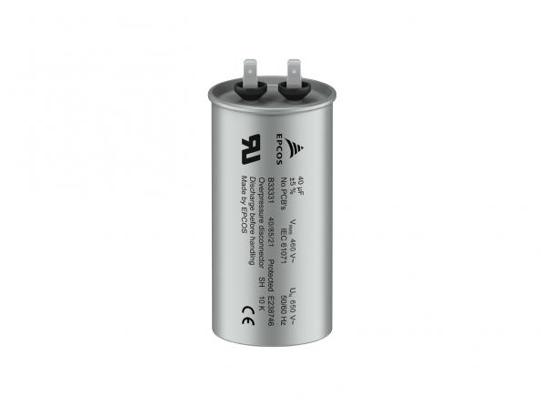 Compact film capacitors for AC filters