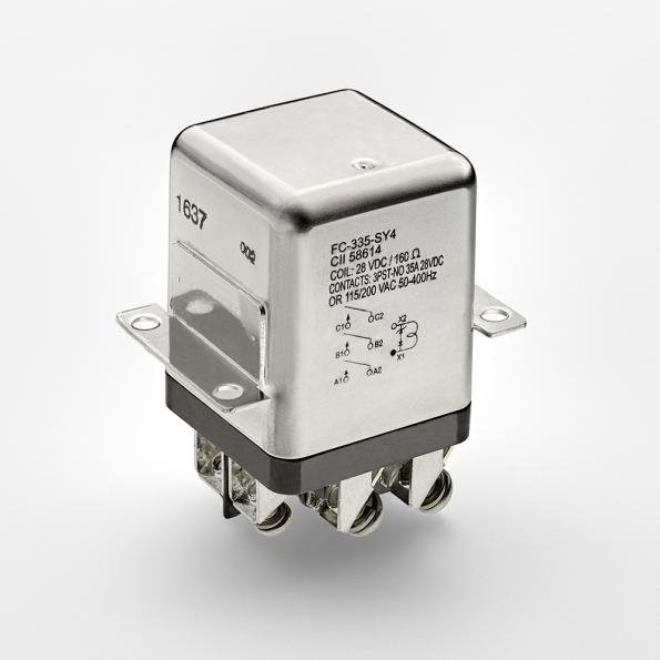 Rugged relay for harsh inductive loads