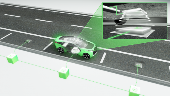 Deal targets 200kW wireless charging road technology