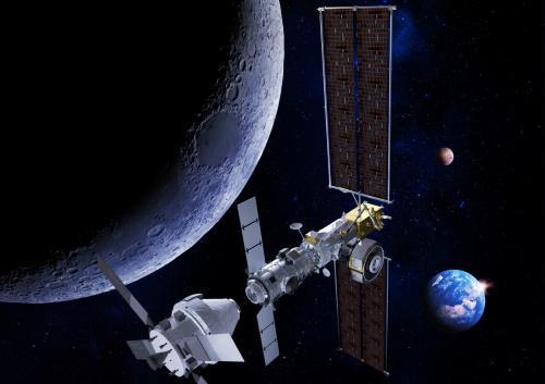 Conquête de lune; Thales Alenia, participe à la passerelle lunaire