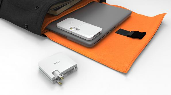 Thin charger startup gains partner in Korea