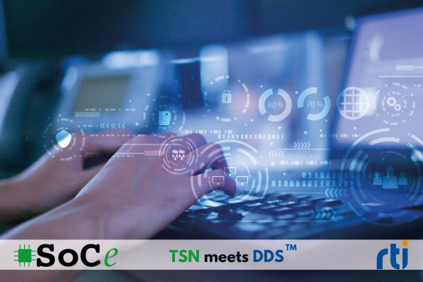 Real-Time Innovations (RTI) and SoC-e have partnered to provide an integrated Data Distribution Service (DDS) in TSN solutions.