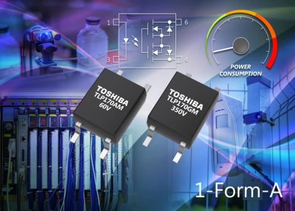 Toshiba's TLP170AM and TLP170GM photorelays have amaximum trigger LED current of 1mA and increased sensitivity.