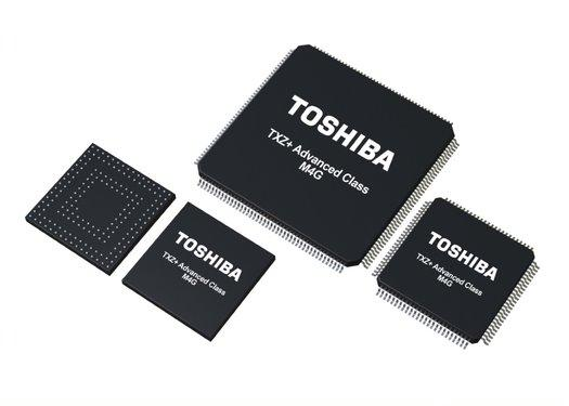 Toshiba expands ARM microcontrollers for data processing