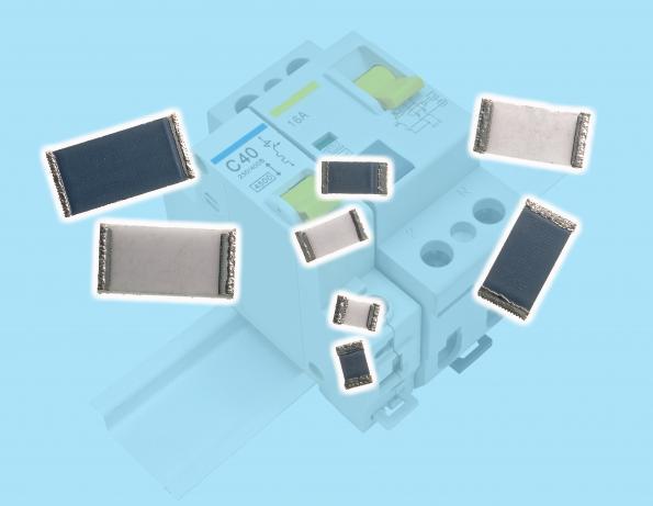 High energy chip resistors reduce board area