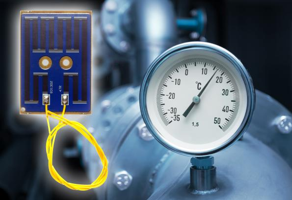 Ultra-slim resistive heaters in standard or custom configurations