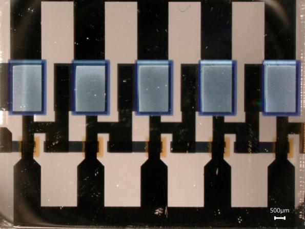 Premiers transistors organiques verticaux fonctionnant au delà du GHz
