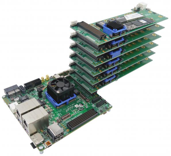Aldec has announced a powerful FPGA-based NVMe data storage solution to assist development of High-Performance Computing (HPC) applications.