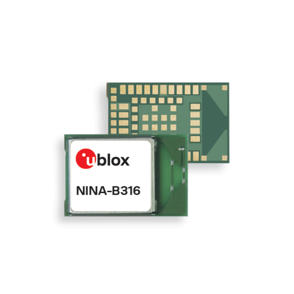Superior integrated PCB antenna option for NINA-B3 Bluetooth low energy modules