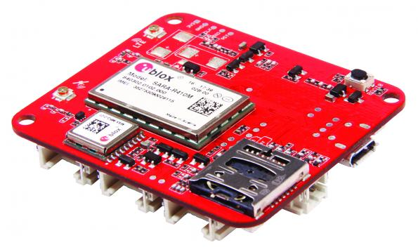 New IoT boards use u-blox technology