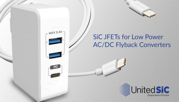 SiC die target low power AC-DC flyback converters