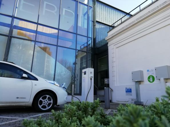 Controller for smart vehicle-to-grid chargers