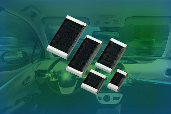 AEC-Q200 thick film chip resistors at 1415V in five case sizes