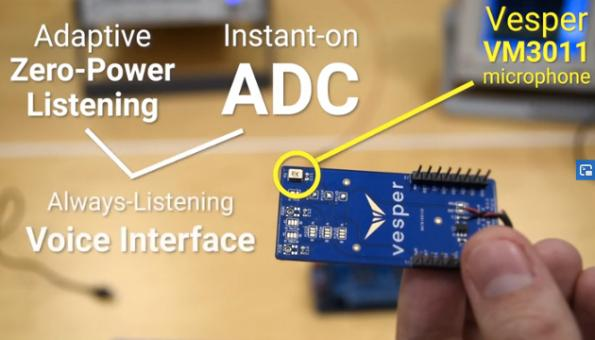 Adaptive MEMS microphone stays asleep longer to save power