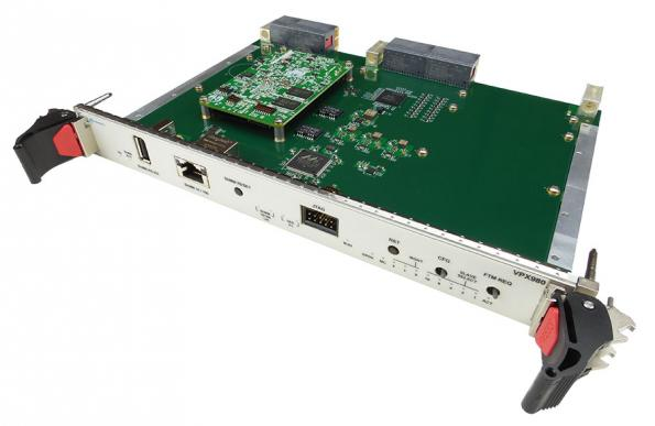 6U VPX chassis manager has integrated JTAG switch module