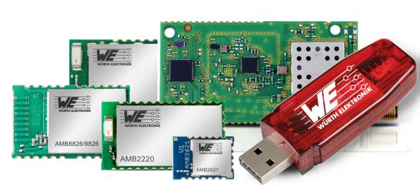 Digi-Key adds Würth Elektronik wireless modules