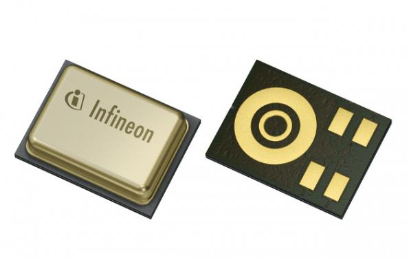 Low-power MEMS microphone tolerates overload