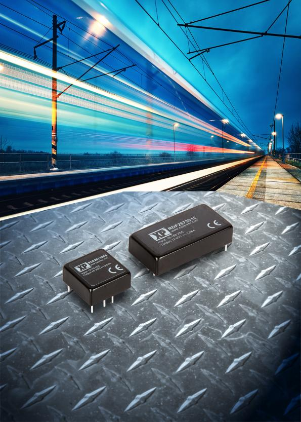 Wide input DC-DC converters for rail designs