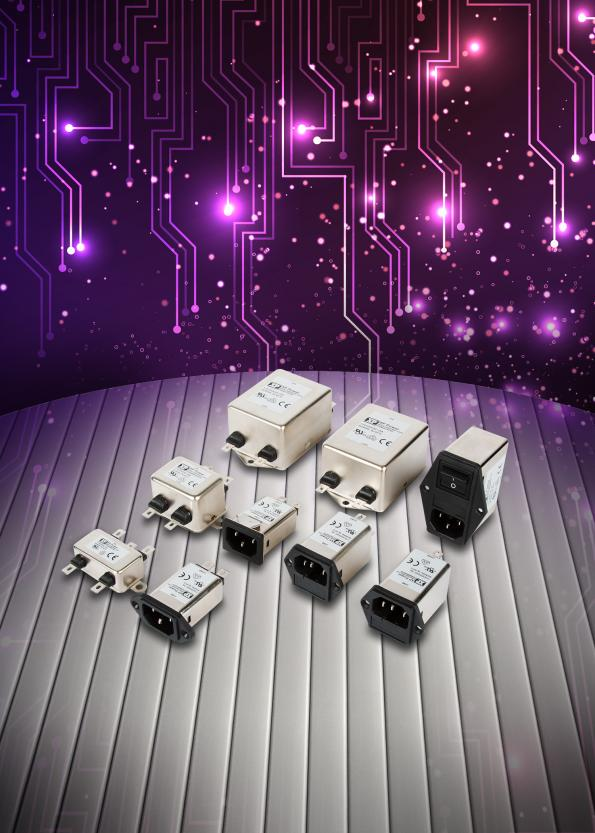 EMI filters for single phase AC supplies